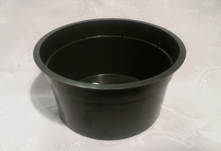 "5"" Plastic Green Pan Pot"
