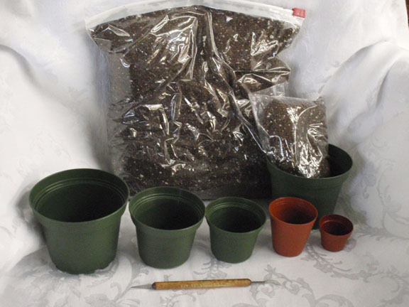 Pots and Supplies