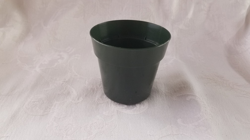 "3"" Plastic Green Standard Pot"